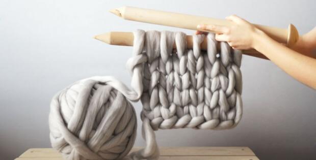 giant knitting | the knitting space