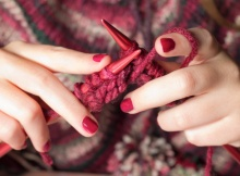 taking up knitting | the knitting space