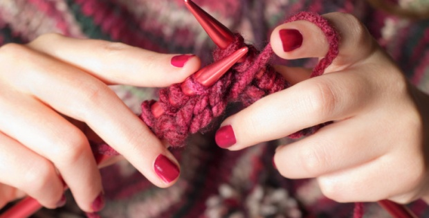 taking up knitting   the knitting space