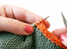 three stitch attached icord | the knitting space