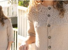 Avery knitted cardigan | the knitting space