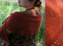 Cinnamon Grace knitted scarf | the knitting space