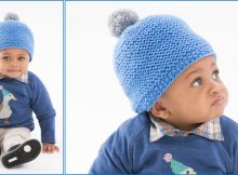 cozy knitted baby cap   the knitting space