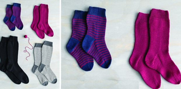 knitted family socks | the knitting space