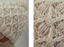 Wickerwork knitted hat | The Knitting Space