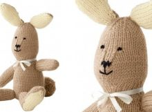 Super cute cuddly knitted bunny   The Knitting Space