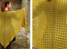 morgenfryd knitted lace shawl | The Knitting Space
