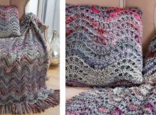 Elegant knitted lapghan   The Knitting Space