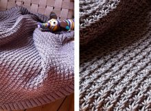 Delightful daisy knitted baby blanket | The Knitting Space