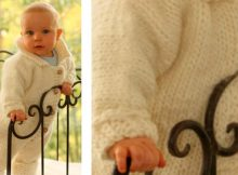 Cute eskimo knitted jumpsuit | The Knitting Space