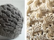 Cute silly shroom knitted beanie | The Knitting Space