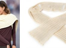 Stylish statement knitted scarf | The Knitting Space