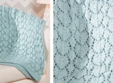 Sweet medallions knitted lace blanket   The Knitting Space