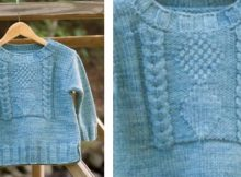 Izaiah's toddler knitted pullover | The Knitting Space