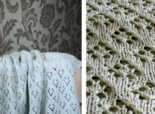 Elven pixie knitted baby blanket |The Knitting Space