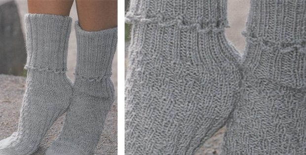 Karisma knitted tube socks | The Knitting Space|