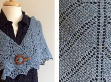 Telluride knitted lace shawlette | The Knitting Space