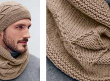 Stylish knitted men's hat and cowl | The Knitting Space