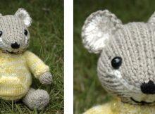 Super cute knitted pocket mouse | The Knitting Space