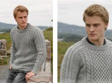 Aran dreams knitted cable sweater | The Knitting Space