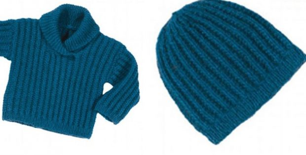 Amuri knitted baby sweater | The Knitting Space