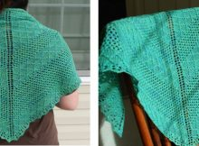 Sisters knitted lace shawl | The Knitting Space