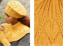 Hello sunshine knitted beret | The Knitting Space