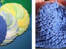 Fun colorful knitted tribbles | The Knitting Space