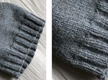 Simple basic knitted beanie | The Knitting Space