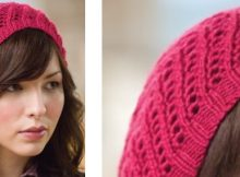 Stylish all day knitted beret | The Knitting Space