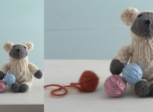 little lamb knitted sock critter | the knitting space
