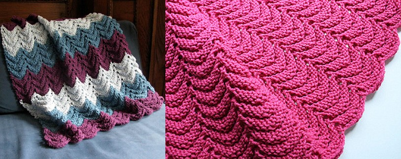 Project Linus Knitted Security Blanket [FREE Knitting Pattern]