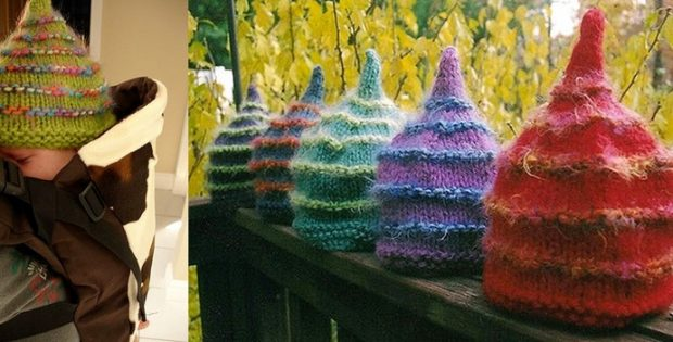 fuzzy little knitted shapka | the knitting space