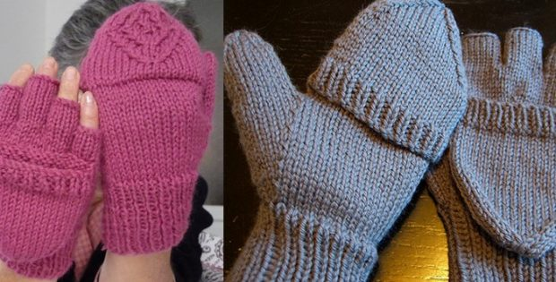 Urban Necessity knitted gloves | the knitting space