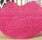 knit big kiss dishcloth | the knitting space