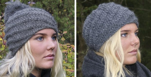 Chinook knitted beanie | the knitting space