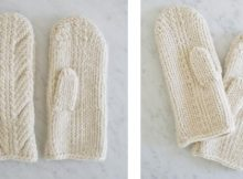 Ancient knitted stitch mittens |The Knitting Space