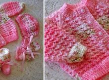 lacey knitted baby cardigan   the knitting space
