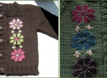 Narnia knitted baby cardigan | the knitting space