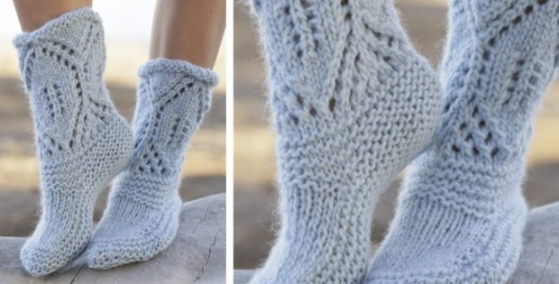 North Shore knitted slippers | the knitting space