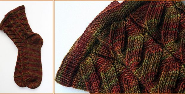 Nutkin knitted unisex socks | the knitting space