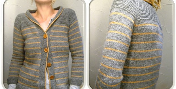Paulie knitted cardigan | the knitting space