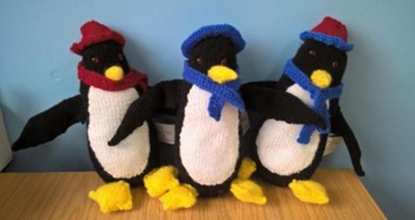 Knit Penguin Soft Toy [FREE Knitting Pattern]