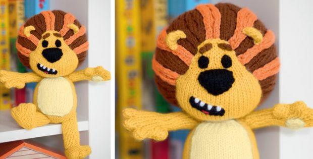 knit raa raa the noisy lion | the knitting space