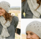 Sweet Caroline knitted scarf and hat | the knitting space