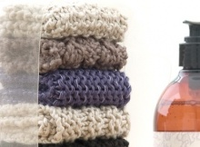 knitted washcloth quartet | the knitting space
