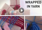 great gift wrapping ideas   the knitting space
