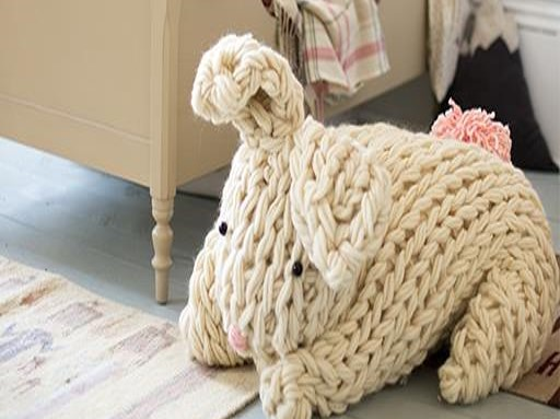 Arm Knit Rabbit Pattern : Can you resist these adorable knitted bunnies