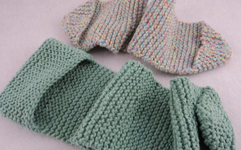 knit back scrubbers   the knitting space