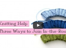 join knitting in-the-round | the knitting space